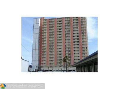 Broward County Condo/Townhouse For Sale: 750 N Ocean Bl #1410