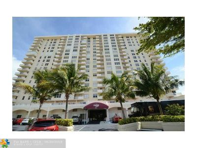 Condo/Townhouse Sold: 3015 N Ocean Blvd #18K