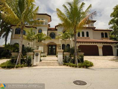 Fort Lauderdale Single Family Home For Sale: 341 Royal Plaza Dr