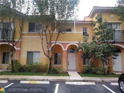 Broward County Condo/Townhouse Backup Contract-Call LA: 606 W Santa Catalina Cir #606