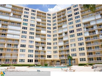 Broward County Condo/Townhouse For Sale: 201 N Ocean Blvd #PH11