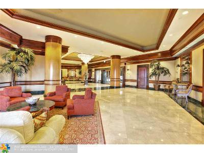 Condo/Townhouse Sold: 3200 N Ocean Blvd #1201