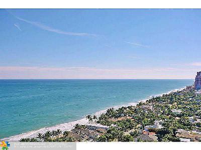 Fort Lauderdale Condo/Townhouse Sold: 3100 N Ocean Blvd #2306