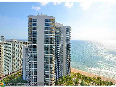 Fort Lauderdale Condo/Townhouse Sold: 3100 N Ocean Blvd #2403