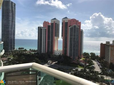 Sunny Isles Beach Condo/Townhouse For Sale: 19370 Collins Av #1127