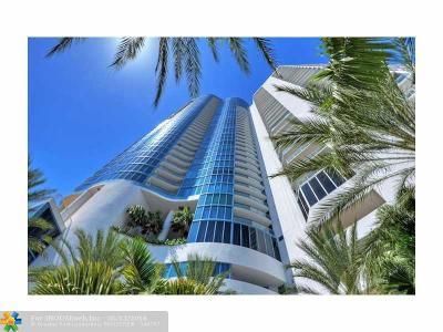 Fort Lauderdale Condo/Townhouse For Sale: 333 Las Olas Way #3505