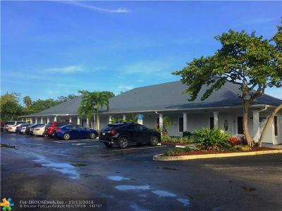 Plantation Commercial For Sale: 201 NW 70th Ave