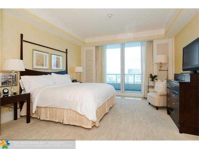 Fort Lauderdale Condo/Townhouse For Sale: 1 N Fort Lauderdale Beach Blvd #1703