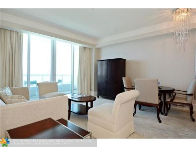 Fort Lauderdale Condo/Townhouse For Sale: 1 N Fort Lauderdale Beach Blvd #1708