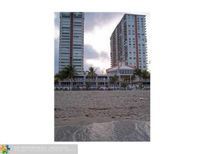 Pompano Beach Condo/Townhouse For Sale: 111 Briny Ave #26-08