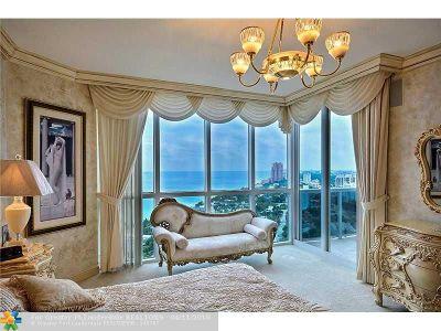 Fort Lauderdale Condo/Townhouse Sold: 3100 N Ocean Blvd #2408
