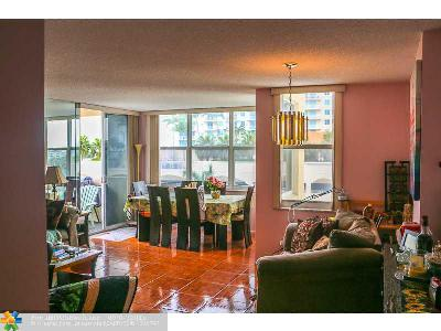 Condo/Townhouse Sold: 3015 N Ocean Blvd #6L