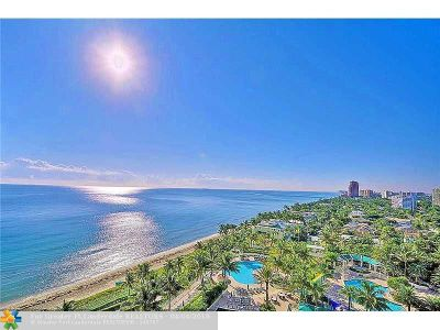 Condo/Townhouse Sold: 3200 N Ocean Blvd #1407
