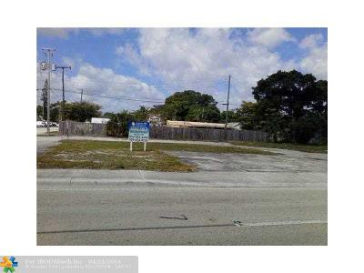 Oakland Park Commercial Lots & Land For Sale: 3301 N Dixie Hwy