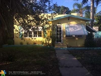 Broward County Multi Family Home For Sale: 825 W Las Olas Bl #1-3