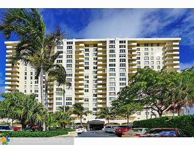 Condo/Townhouse Sold: 3015 N Ocean Blvd #5H