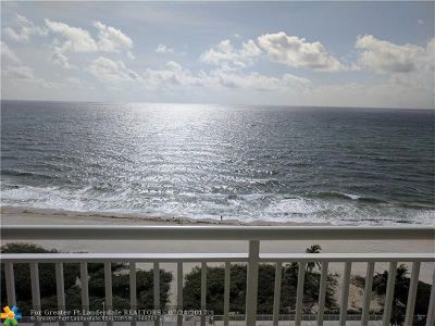 Pompano Beach FL Condo/Townhouse For Sale: $599,000