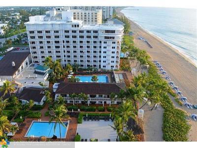 Pompano Beach Rental For Rent: 1220 S Ocean Blvd #PH