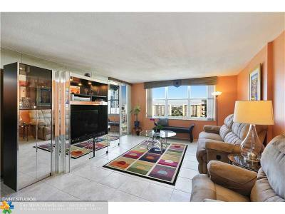 Condo/Townhouse Sold: 3015 N Ocean Blvd #17B
