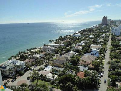 Fort Lauderdale Condo/Townhouse Sold: 3100 N Ocean Blvd #2304