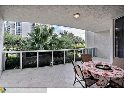 Fort Lauderdale Condo/Townhouse Sold: 3100 N Ocean Blvd #503