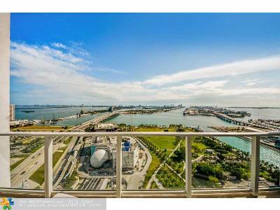 Miami Condo/Townhouse For Sale: 1040 Biscayne Blvd #2904