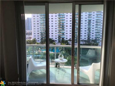 Sunny Isles Beach Condo/Townhouse For Sale: 19370 Collins Av #608