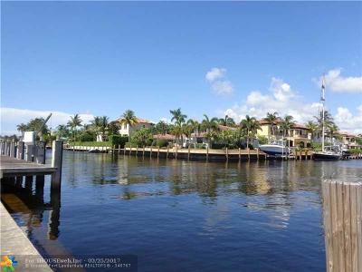 Lighthouse Point Single Family Home For Sale: 2601 NE 26th Ave