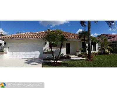 Coral Springs Single Family Home Sold: 4635 NW 59 Wy