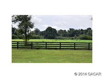 Alachua Residential Lots & Land For Sale: 13576 NW County Rd CR-235