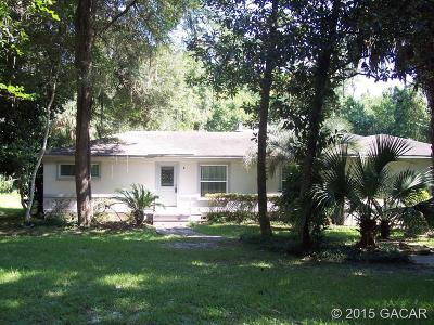 Gainesville Single Family Home For Sale: 6009 SW 27th Terrace