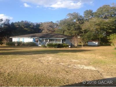 Micanopy Single Family Home Pending: 22655 N Highway 441