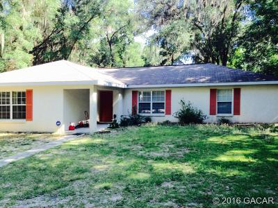 Micanopy Single Family Home For Sale: 17730 SE 26th Street