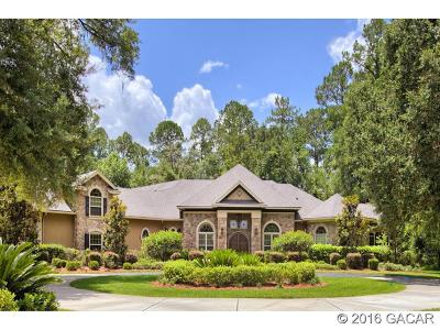 Gainesville Single Family Home For Sale: 7562 SW 116th Terrace
