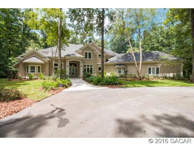 Gainesville Single Family Home For Sale: 6716 NW 81st Boulevard