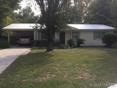 Lake City FL Single Family Home For Sale: $84,900