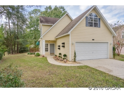 Alachua Single Family Home For Sale: 6539 NW 106th Place