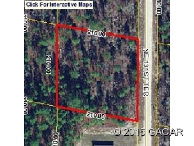 Williston FL Residential Lots & Land For Sale: $9,400