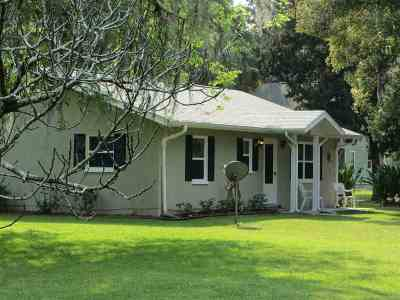Micanopy Single Family Home For Sale: 101 NW 3rd Ave Avenue