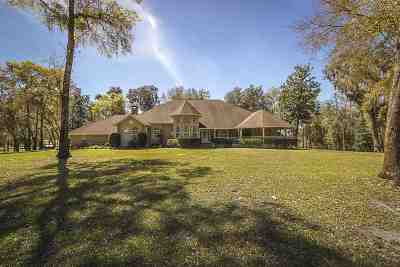 Chiefland Single Family Home For Sale: 7250 Camp Azalea Road