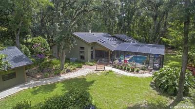 Micanopy Single Family Home For Sale: 9500 NW 193 Street