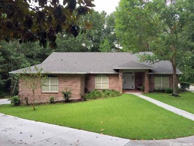 Gainesville Single Family Home For Sale: 1102 NW 58th Terrace