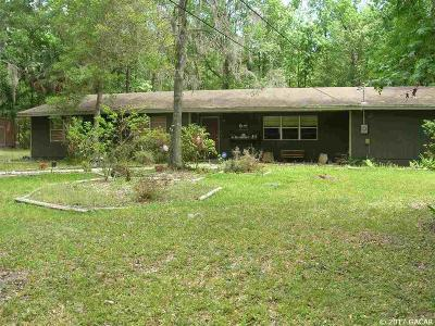 Gainesville Single Family Home For Sale: 4815 NW 19th Street
