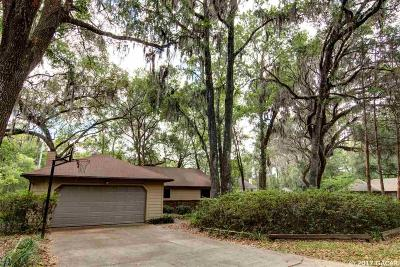 Gainesville Single Family Home For Sale: 5427 SW 86th Drive