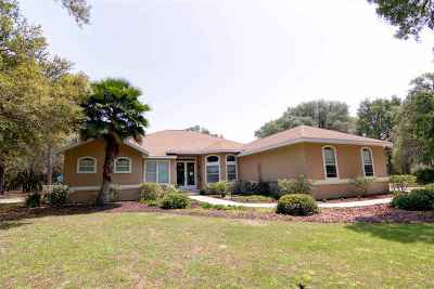 Chiefland Single Family Home For Sale: 12951 NW 80th Avenue