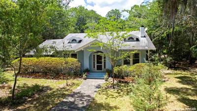 Micanopy Single Family Home For Sale: 100 N Division Street