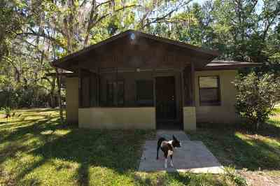 Micanopy Single Family Home For Sale: 702 NW 2 Street