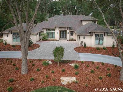 Gainesville Single Family Home For Sale: 3036 SW 113th Drive