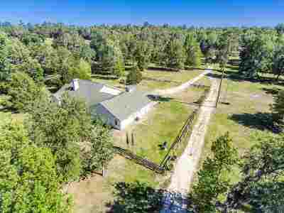 Micanopy Single Family Home For Sale: 12555 NW 198th Street Road