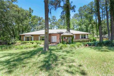 Gainesville Single Family Home For Sale: 1410 NW 110th Terrace